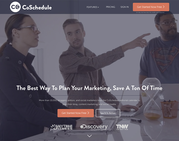 Coschedule to schedule post
