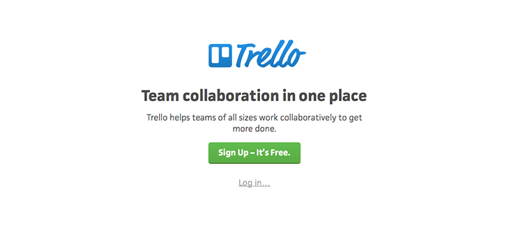 Trello helps in Managing Workflow