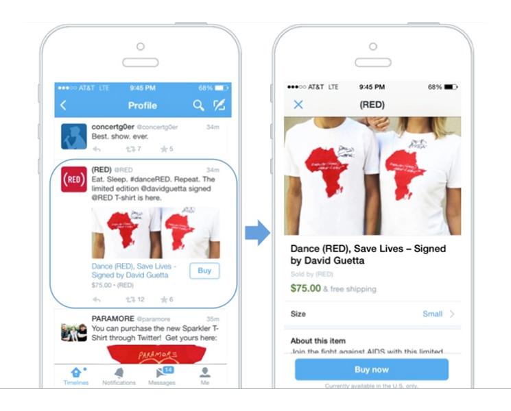 mobile eCommerce buy now